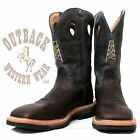 Twisted X Lite Cowboy Steel Toe Blue Oil Rig Work Boot MLCS006