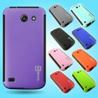 For Huawei AT&T Tribute Fusion 3 Slim Case Hybrid Hard Cover w/ Screen Protector