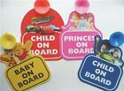 Baby on Board Disney Car Signs Disney Princess Toy Story Winnie the Pooh Tigger