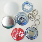 "Bottle Opener Parts WITH RINGS for Button Maker Machines  2-1/4"" STD 2.25 Inch"
