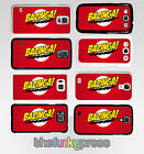 Bazinga Big Bang Theory Samsung Galaxy S6 S7 S8 Edge Plus Plastic Case