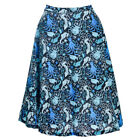 Banjo & Cake Too Fast Seahorse Love Sea Garden Nautical Long Skirt