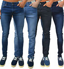 Mens Designer Enzo Jeans Super Stretch Skinny Slim Fit Fashion Retro Denim EZ326