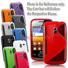 S-Line Tpu Gel Silicone Skin Back Case Cover fit Many Samsung Cell Phone Models