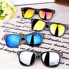 Fashion Shades Classic Mirrored Wayfarer Sunglasses UV400 Mens Women Unisex