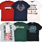 Tommy Hilfiger T Shirts Lot of 5 Mens Graphic Tees All Colors Sizes Logo P064