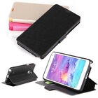For Samsung Galaxy Note 4 LUXURY Stand-in Wallet  Flip PU Leather Case Cover