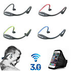 Wireless Bluetooth Headset Earbuds SPORT Earphone Stereo Headphone For Cellphone