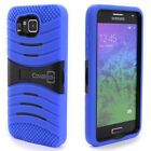 Heavy Duty Impact Proof Hybrid Stand Phone Cover Case for Samsung Galaxy Alpha