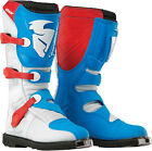 Thor MX ATV Blitz S5 ADULT Red/White/Blue Boots 7-15