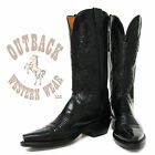 Lucchese Black Calf 1883 Boots N4501