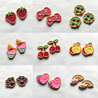 18pcs New Design Resin Flatbacks Craft Scrapbooking Hairclips Lots Mix B0433