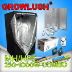 250/400/600/1000W Magnetic Grow tent Grow light batwing hood MH HPS lamps