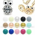 Mexican Bola Locket Pendant Cute Owl Cage Harmony Chime Ball Wish Necklace Gift