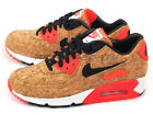 Nike W Air Max 90 Anniversary Cork 2015 Bronze/Black-Infrared-White 726485-700