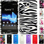 Silicone TPU Gel Bumper Case Cover Sleeve Skin For The Sony Xperia T LT30p
