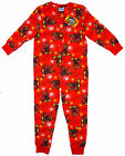 Boys SKYLANDERS Giants Hot Dog All in One Cotton Sleepsuit Romper 3-10 Years NEW