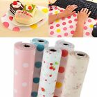 300cm Polka Dots Shelf Contact Paper Cabinet Drawer Liner Kitchen Table Mat Cute