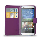 HTC Desire 620 - PU Leather Wallet Case Cover  &  Free Screen Protector