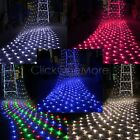88G - Multicolor 300 LED Fairy String Net Mesh Curtain Ceiling Light Xmas 8 Mode