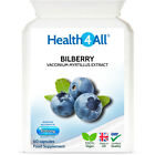 Bilberry Strong Extract 2400mg Capsules | MIN 25% OF ANTHOCYANINS