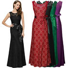 Women's Vintage Maxi Cocktail Evening Party Ball Gown Bridesmaids Long Dresses