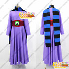 Ravio Zelda A Link Between Worlds cosplay costume purple with scarf