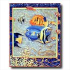 Exotic Coral And Ocean Fish #3 Kids Room Wall Picture