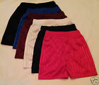 MENS FOOTBALL RUNNING TENNIS SPORTS LEISURE GAMES 2TONE SILKY SHADOW SHORTS NEW!