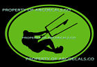 VRS OVAL Kitesurfing Leaning Kite Surf Board Surfing AR DECAL VINYL STICKER