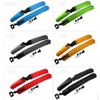 Hot Plastic Front & Rear Fender Mud Guards Mudguard For Cycling MTB Bicycle Bike