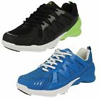 Mens Air Tech Casual Lace Up Trainers - Roma