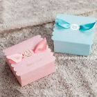 10pcs Rabbit Bear Favor Gift Candy Cake Boxes For Baby Shower Boy & Girl BX022