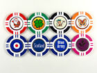 Magnetic Poker Chip With Novelty Ball Marker