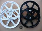 "20"" BMX Mag Wheels Wheelset Front & Rear Bike Cycle NEW Black or White"