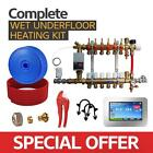 Water Underfloor Heating -Single Room Kit 100m2 with PE-X Pipe Standard Output