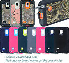 New Defender Series Case / Camo For Samsung Galaxy Note 4 w / Belt Clip