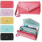 Leather Wallet Purse Phone Case Pouch for iPhone 6 4 4S 5 5S Samsung S2 S3 S4