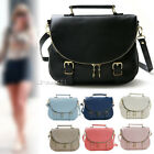 Womens Ladies New Shoulder Bags Faux Leather Satchel CrossBody Bag Tote Handbag