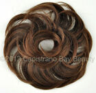Wavy Scrunchie Hair Piece Pony Holder Wig Add On - CHOOSE YOUR COLOR!