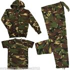 BOYS ARMY OUTFIT CAMO TROUSERS T-SHIRT JACKET HOODIE DRESS UP COSTUME MILITARY