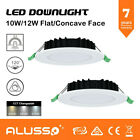 Satin Chrome& white 10W,13W & 18W Dimmable SMD LED Downlight Kit IP44  WW/DW