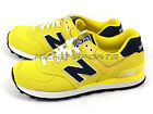 New Balance NB WL574POI B 2015 Classic Casual Lifestyle Shoes Yellow/Navy/White