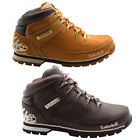 Timberland Euro Sprint Brown Wheat Mens Hiking Leather Boots 44546 44548