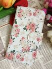Rose Love Fresh Floral Flower Flip Pouch Case Cover for MOTOROLA LG Card Holder