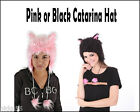 Brand New Pink or Black Catarina Hat