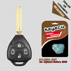 Replacement Remote Key Fob 4 Button 314.3MHz 4D67 for Toyota Alphard 2001 - 2005