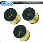 AC Delco PF457GF Engine Oil Filter Cartridge Set of 3 for Chevy GMC Buick Olds