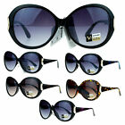 VG Eyewear Diva Womens Round Oversize Butterfly Thick Plastic Sunglasses