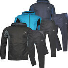 Puma Active Woven Zip Mens Lightweight Hooded Full Tracksuit (830043 R)